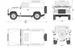 Land Rover Defender 90 Hard Top (2008)