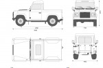 Land Rover Defender 90 Pick Up (2008)