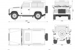 Land Rover Defender 90 Station Wagon
