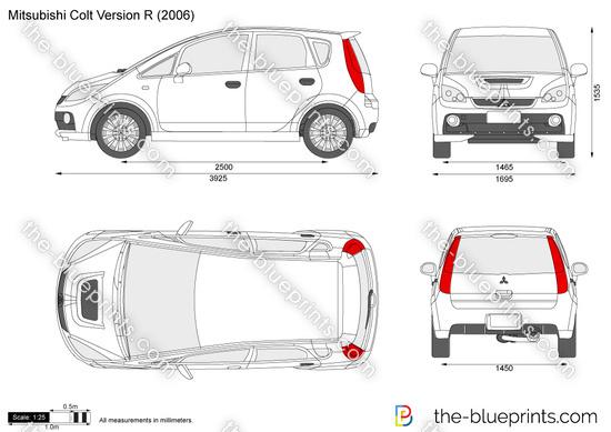 Mitsubishi Colt Version R