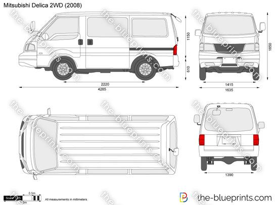 Mitsubishi Delica 2WD