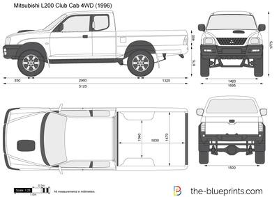 Mitsubishi L200 Club Cab 4WD