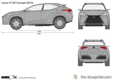 Lexus LF-NX Concept (2013)