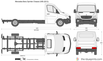 Mercedes-Benz Sprinter Chassis LWB