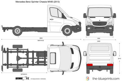 Mercedes-Benz Sprinter Chassis MWB