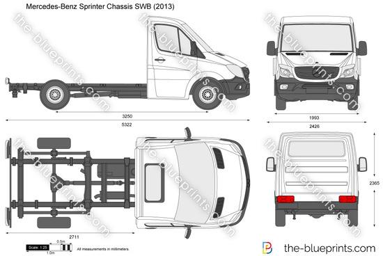 Mercedes-Benz Sprinter Chassis SWB