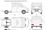 Mercedes-Benz Sprinter Chassis SWB Double Cabin