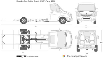 Mercedes-Benz Sprinter Chassis XLWB T-Frame