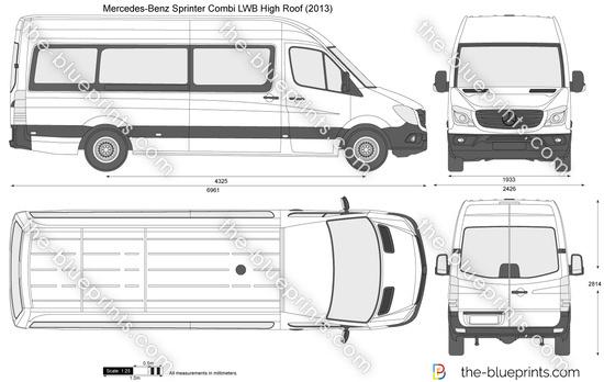 Mercedes-Benz Sprinter Combi LWB High Roof