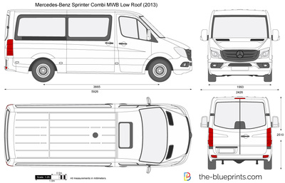 Mercedes-Benz Sprinter Combi MWB Low Roof