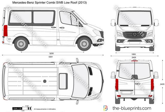 Mercedes-Benz Sprinter Combi SWB Low Roof