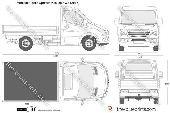 Mercedes-Benz Sprinter Pick-Up SWB