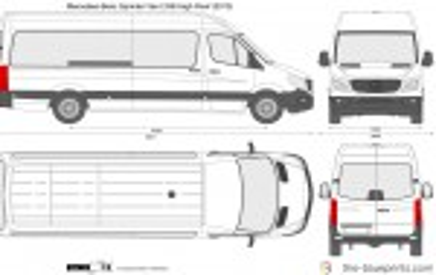 Mercedes-Benz Sprinter Van LWB High Roof