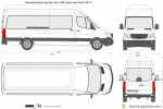 Mercedes-Benz Sprinter Van LWB Super High Roof