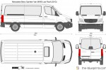 Mercedes-Benz Sprinter Van MWB Low Roof