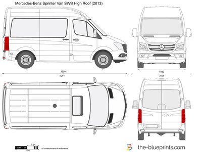 Mercedes-Benz Sprinter Van SWB High Roof