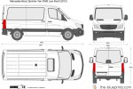 Mercedes-Benz Sprinter Van SWB Low Roof