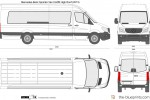 Mercedes-Benz Sprinter Van XLWB High Roof