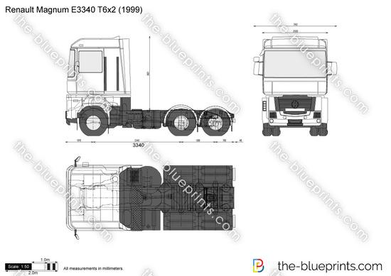 Renault Magnum E3340 T6x2