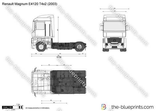 Renault Magnum E4120 T4x2