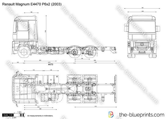 Renault Magnum E4470 P6x2