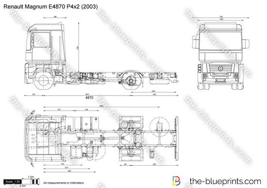 Renault Magnum E4870 P4x2