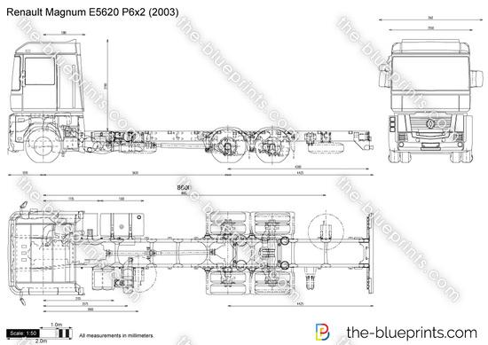 Renault Magnum E5620 P6x2