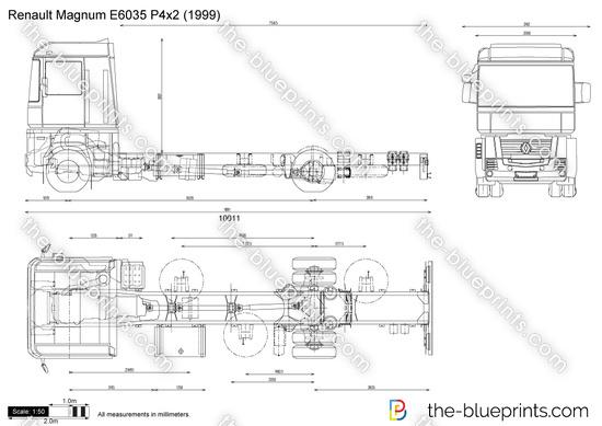 Renault Magnum E6035 P4x2