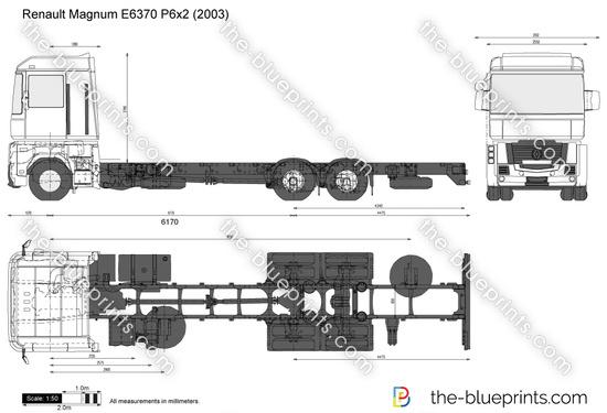 Renault Magnum E6370 P6x2