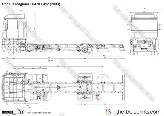 Renault Magnum E6470 P4x2