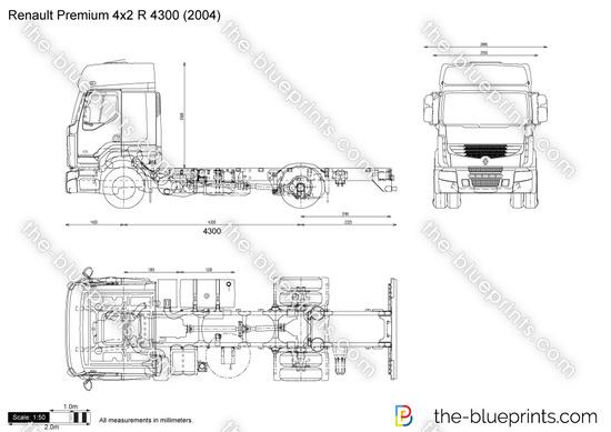 Renault Premium 4x2 R 4300
