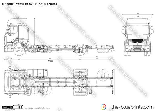 Renault Premium 4x2 R 5800