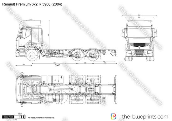 Renault Premium 6x2 R 3900