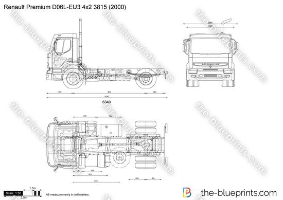 Renault Premium D06L-EU3 4x2 3815