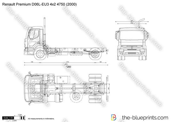 Renault Premium D06L-EU3 4x2 4750