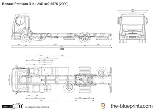 Renault Premium D11L 24S 4x2 5575