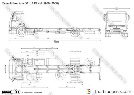 Renault Premium D11L 24S 4x2 5960