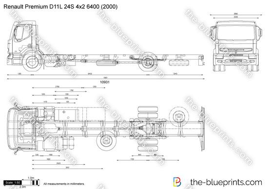 Renault Premium D11L 24S 4x2 6400