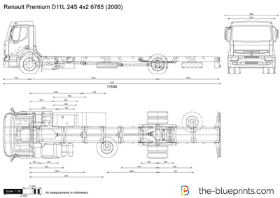 Renault Premium D11L 24S 4x2 6785
