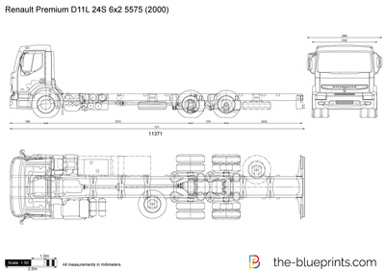 Renault Premium D11L 24S 6x2 5575