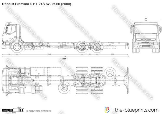 Renault Premium D11L 24S 6x2 5960