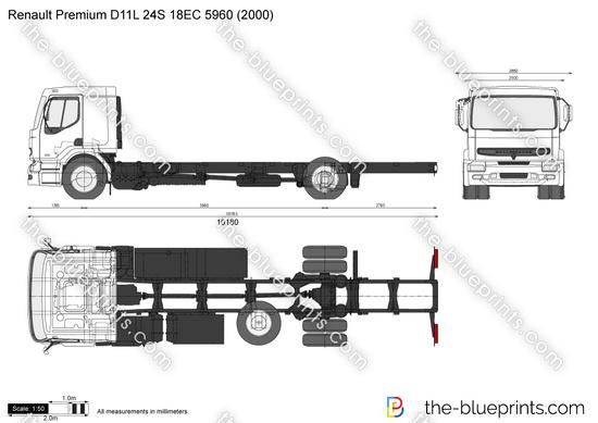 Renault Premium D11L 24S 18EC 5960