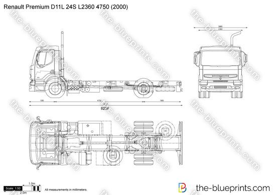 Renault Premium D11L 24S L2360 4750