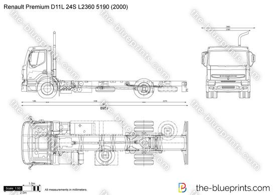 Renault Premium D11L 24S L2360 5190