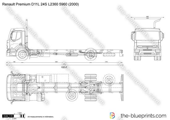 Renault Premium D11L 24S L2360 5960