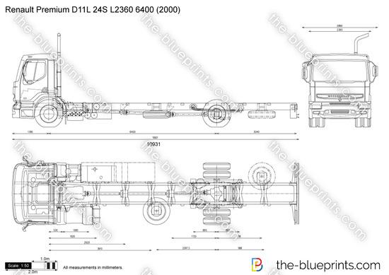Renault Premium D11L 24S L2360 6400
