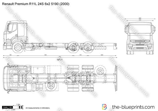 Renault Premium R11L 24S 6x2 5190