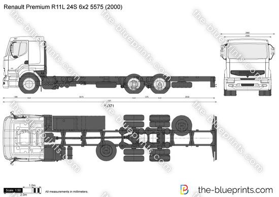 Renault Premium R11L 24S 6x2 5575