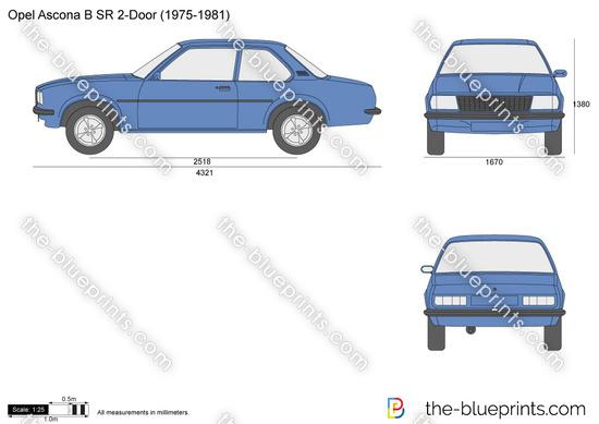 Opel Ascona B SR 2-Door