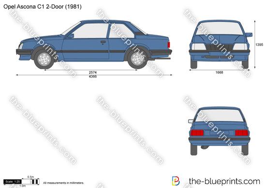Opel Ascona C1 2-Door